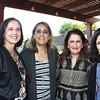 Elysa Del Guercio, Kathy Seuylemezian, Gita Singh and Gina Ricci