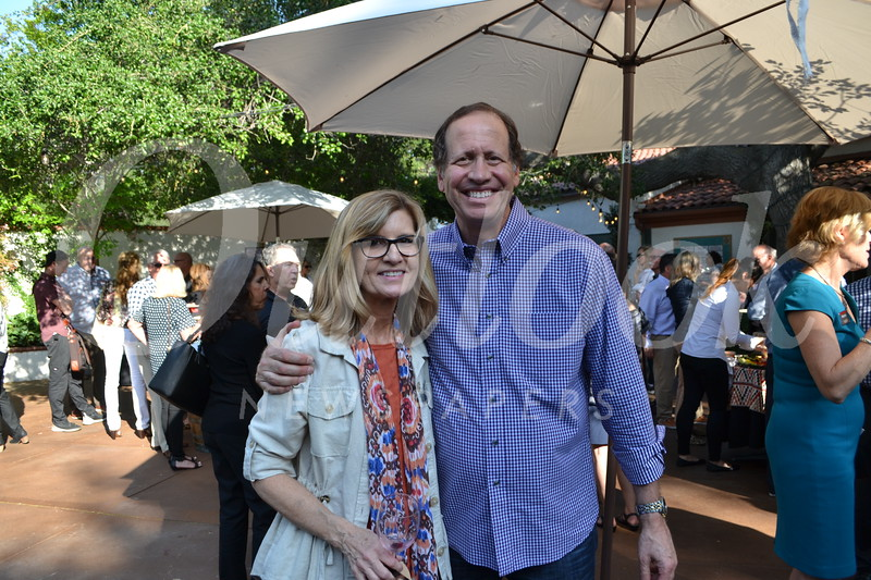 Event sponsors Gayle Penrod and Mike Galper