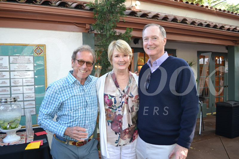 Terry Kay with Maggie and Tim McDonnell