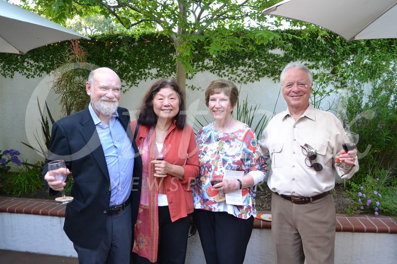 John Stamper, Bonnie Sun, Vicki Land and Jim Culvert
