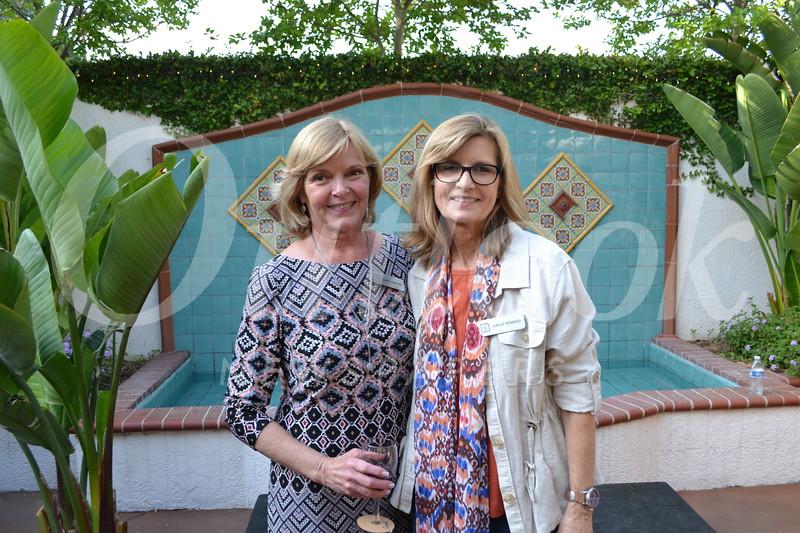 Los Altos Auxiliary co-Presidents Carol DeFond and Gayle Penrod