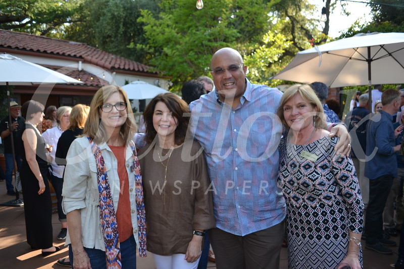 Los Altos co-President Gayle Penrod, Hathaway-Sycamores CEO Debbie Manners, Senior Vice President Joe Ford and Los Altos co-President Carol DeFond