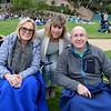 Yvonne Herron, Susan Luis and Wayne Herron