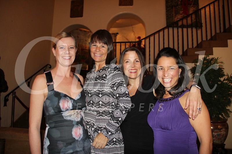 Kellie Greenblatt, Tracey Nelson, Elizabeth Landswick and Georgina Mueller