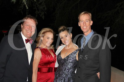 Kevin and Stephanie Mansfield with Natalie and Dennis Hubbard