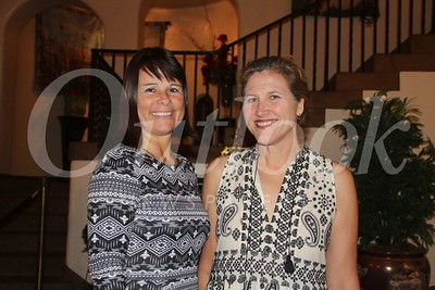 LCJWC President Tracey Nelson and event chair Jill Chapman