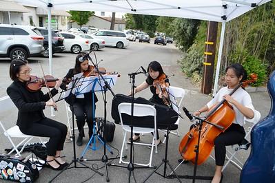LCHS string Quartet Ellie Lim, Sonia Bhaskaran, Trinity Chung and Jasmine Gao 330