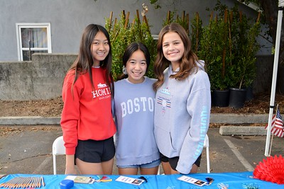 LCHS CJSF students Isabelle Fugh, Annabel Le and Tatum Purdy 324