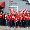 Keller Williams staff and friends