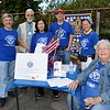 La Cañada/La Crescenta AM Kiwanis members include Chris Ecker, President Tom Petersmeyer, Vice President John Wray, MaryAnn Ralser and Rosemary Cook
