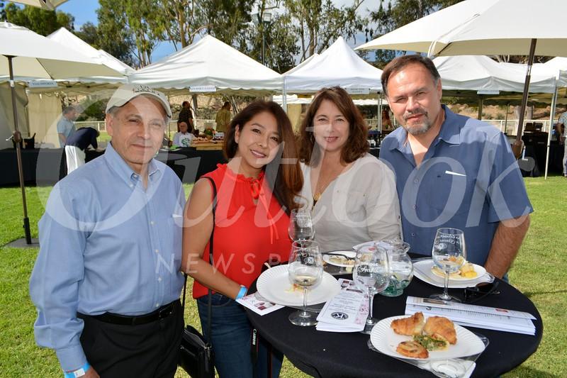 Philip and Alejandra Chirino with Mary and Jorge Guzman