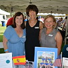 Sue Wright, Diane Moldafsky and Katherine Loevinger represent Sister Cities