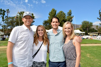 Brandon and Anne Averill with Justin and Katherine Dyer