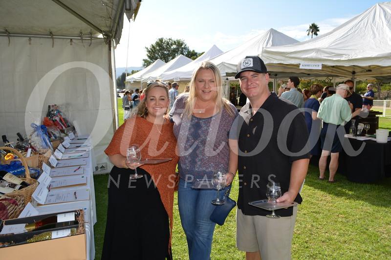 Allison Regan with Michelle and Tim Colbert