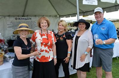 Mary Gant, Ellie Wildermuth, Nancy Leininger, Kaitzer Puglia and Mike Leininger