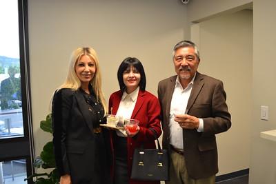 Arpy Mardirlsian, Stella Karapetyan and Mitsu Diley