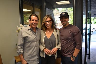 Craig and Regina Baker with Manny Gonzalez