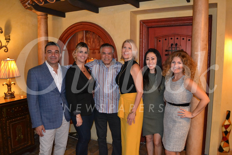 Mike and Sandy Kobeissi, Sam Marcos, Rita Gooch, Michelle Strassburg and Analily Park