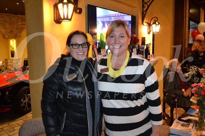 Tina Daley and Nancy Rappard
