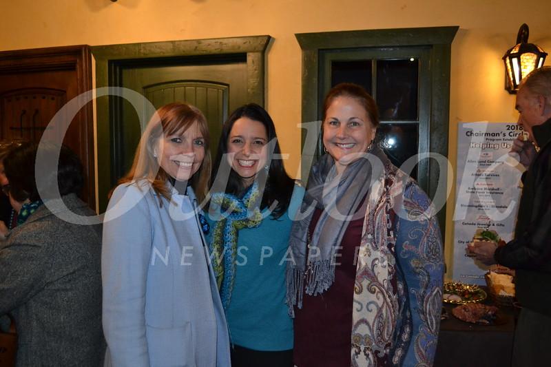 Dawna Thibodeau, Georgina Mueller and Jennifer Hronek