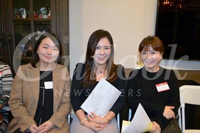 LCHS World Language Teacher Hyun Choe, Min Park and Anna Yang 180