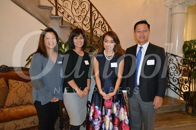 Director Marilyn Yang, Director Juliie Bae, Event chair Sarah Ahn and Director Michael Yang 174