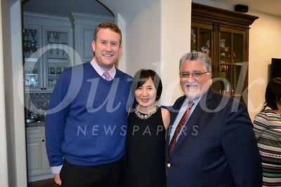 LCHS Principal Ian McFeat, Judy Kwon and Assemleyman Anthony Portantino 189