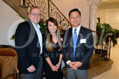 Charles and Susan Calix with executive Director  Michael Yang160