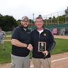 Sam Maya Award recipient Keith Eich with Joe Radabaugh