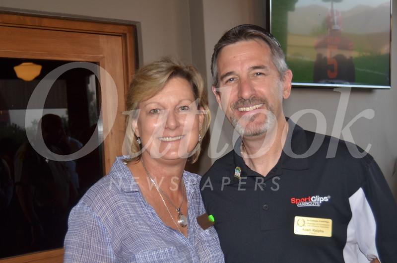 Pam Stumbaugh and Adam Ralphs