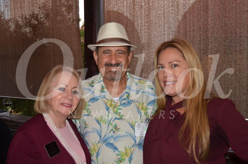 Carey Harvey, Ray Mirzakhanian and Angelica Leon