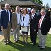 Greg Brown, Michael Davitt, Mayor Terry Walker, Jonathan Curtis and Leonard Pieroni