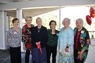 Karen Sharp, Pat Chase, Joanne Crispin, Stephanie Fenig, Jeanne Long and Julianne Titus