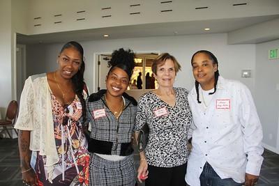 La Shonda King-Parker, Tarrá King-Parker Jr., Karen Sharp and Tarrá King Parker