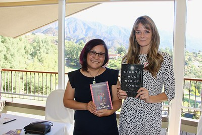Authors Naomi Hirahara and Lydia Fitzpatrick