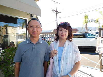 Peter Cao and Marjorie Hung