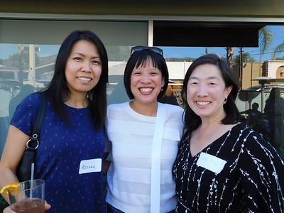 Rosana Chen, Jennifer Liu and Grace Kung