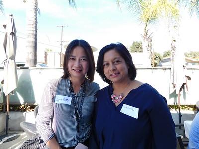 Lynne Wang and  Josephine Alvarez-Salazar