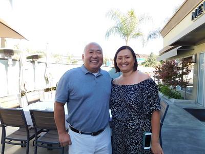 Palm Crest Elementary Principal Cory Pak and Caroline Anderson