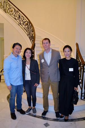 John and Ashley Lee, Patrick Monaghan and Nayoung Kim