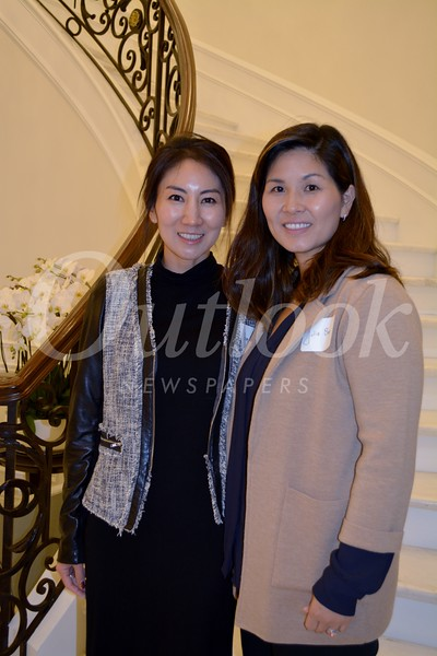Volunteer directors and event co-chairs Ahee Han and Julie Bae