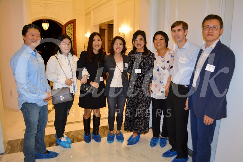 John Lee, Jennifer Lim, Claire Yoon, Ashley Lee, Susan Kim, MiJung and Maxim Konakov, and Daniel Yoo