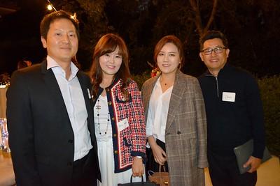Cris and Eun Iris Lee, Min Park and Chris Baek