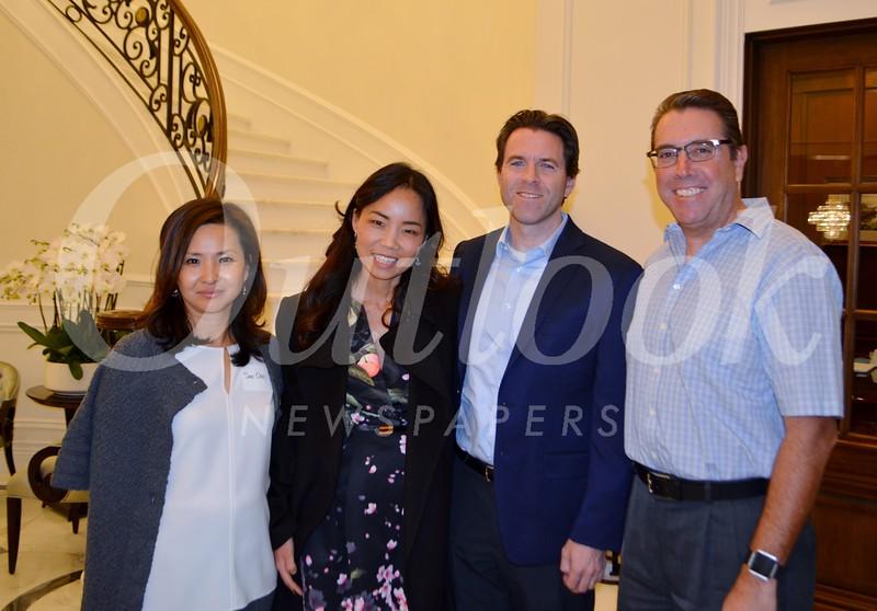 Soo Choi, Sarah Anh, Darren Hodgins and Jim Cartnal