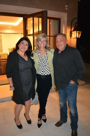 Superintendent Wendy Sinnette (center) with Kaitzer and Joe Puglia