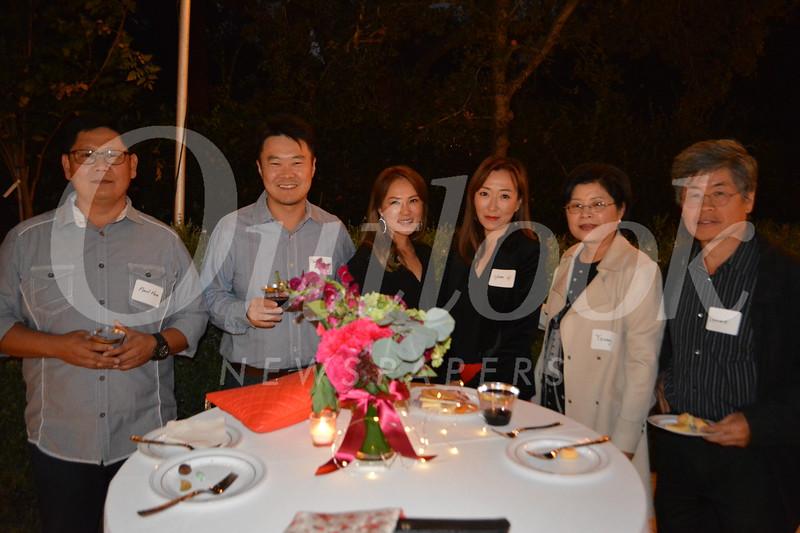 Paul Han, Samuel and Jessica Kong, Yumi Yi, Young Kim and Leonard Cho