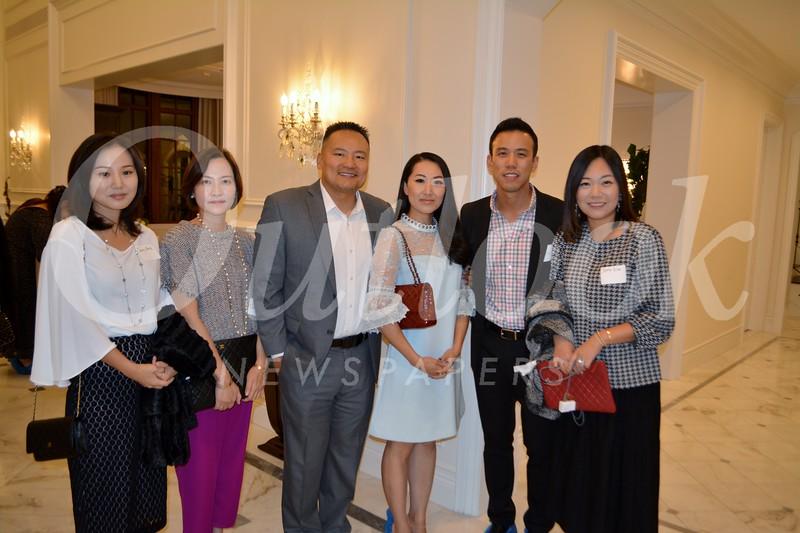 Jenny Park, Chong Kim, Stephen and Janet Cho, and Dong and Jenny Kim