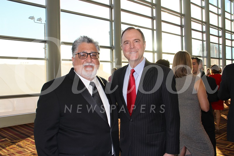 State Sen. Anthony Portantino and Congressman Adam Schiff
