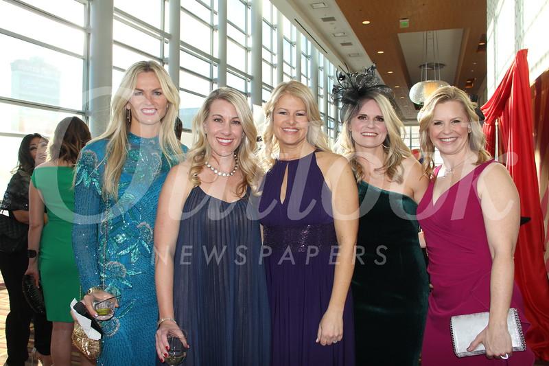Heather Scherbert, Allison Carmack, Karen Clark, Heidi Hamilton and Jennifer Gordon