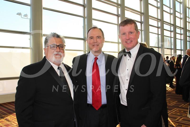 State Sen. Anthony Portantino, Congressman Adam Schiff and Joe Radabaugh